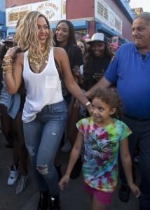 Beyonce at Coney Island 2