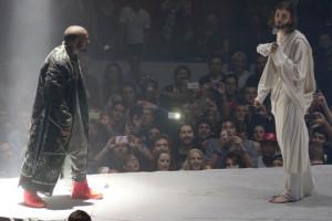Kanye Jesus On stage