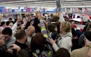 Walmart fight